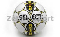 Мяч футбольный №4 SELECT SUPER (WY) (бел-син-желтый)