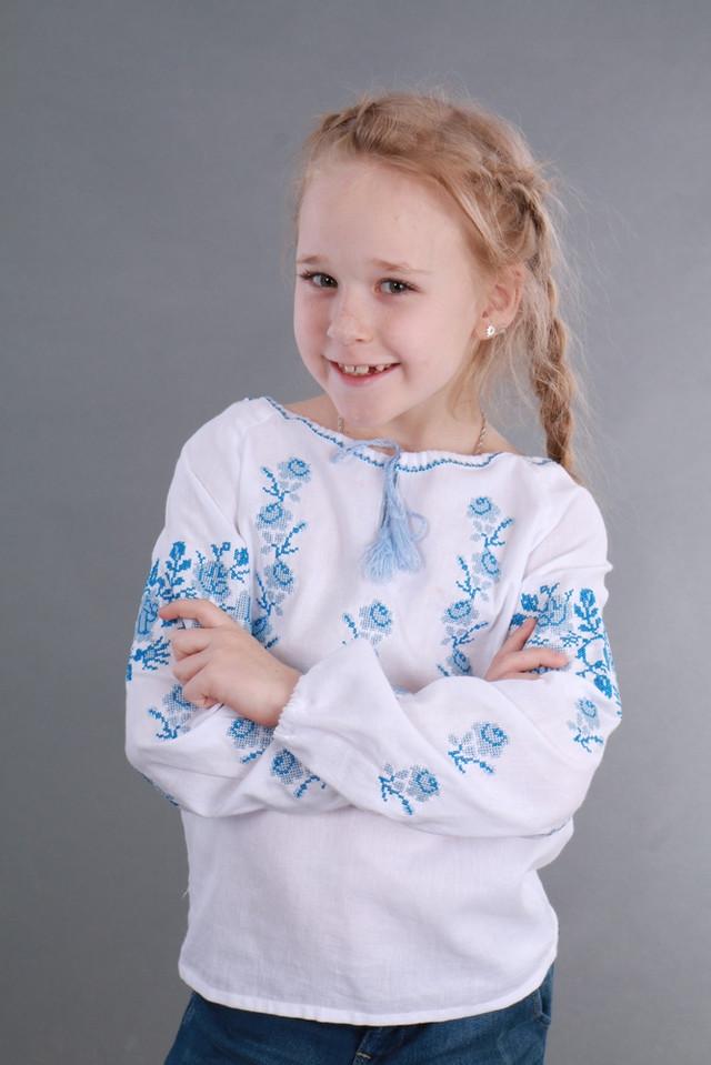 Вышиванка для девочки детская