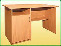 Стол письменный, 1-дверный, тумба справа, фото 1