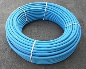 Труба полиэтиленовая Ø 25 мм, 10 атм, 2.2 мм толщина, бухта 300 м