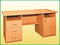 Стол письменный, 1-дверный с тремя ящиками