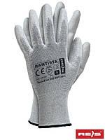 Перчатки антистатические рабочие с полиуретановым покрытием Reis Польша (защита рук) RANISTA BWW