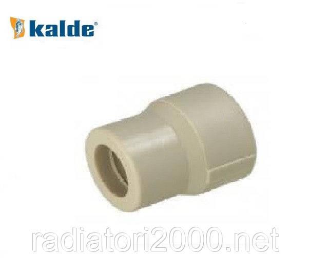 Муфта Kalde 50х32 ВН полипропилен