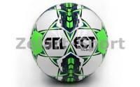 Мяч футбольный №4 SELECT TALENTO(FPUG1300, белый-синий-салатовый)