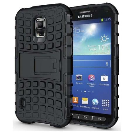 Протиударний бампер Splint для Samsung Galaxy S5 Active (SM-G870) - Black