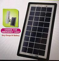 Зарядное устройство на солнечных элементах Solar Panel GD-Light MP-003WP, зарядка гаджетов, солнечная панель