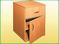 Тумбочка с дверцей и ящиком