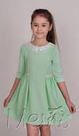 Нарядное стильное платье. детское платье м 1739