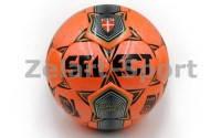 Мяч футбольный №5 SELECT BRILLANT SUPER (FPUS2000,оранжевый)