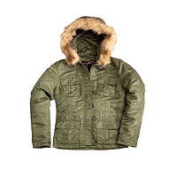Оригинальная женская куртка Alpha Industries Abby WJA34030K1 (Sage Green)