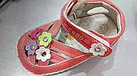 Босоножки - пинетки для девочки
