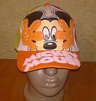 Яркие летние кепки Микки Маус с сеточкой