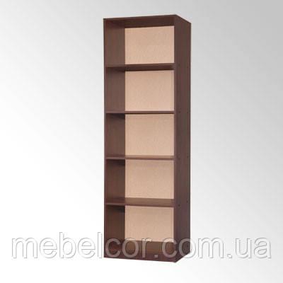Шкаф-стеллаж книжный односекционный КШ-1