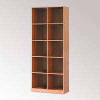 Шкаф-стеллаж книжный двухсекционный КШ-2