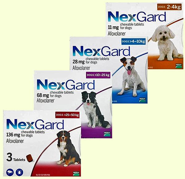 Merial NexGard (Нексгард) M – 4-10 кг