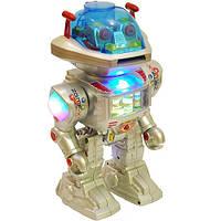 Интерактивный робот стреляет дисками
