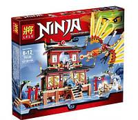 Конструктор Lele серия Ninja / Ниндзя 79140 Огненный Храм (аналог Lego Ninjago 2507)