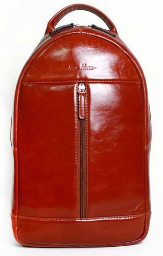 Выразительный мужской рюкзак на 5л Issa Hara BP1 (54-00) коричневый