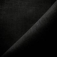 Лен натуральный Беларусь -  цвет черный