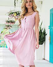 Летнее платье миди | Fidele полоска sk, фото 2