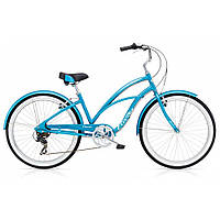 "Велосипед 26"" ELECTRA Cruiser Lux 7D Ladies' Blue Metallic"