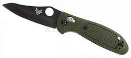 Нож складной Benchmade Griptilian Mini зеленая рукоять