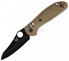 Нож складной Benchmade Griptilian Mini песочная рукоять