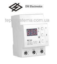 Реле контролю струму ZUBR 125 (RET I25) однофазне (DS Electronics, Україна)