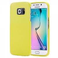 Чехол для Samsung Galaxy S6 Edge - Rock Vogue series, желтый
