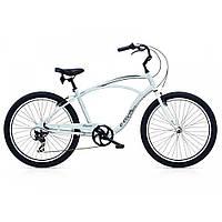 "Велосипед 26"" ELECTRA Cruiser Lux 7D Men's Silver Satin"