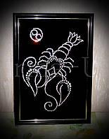 Картина знак зодиака Рак