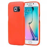 Чехол для Samsung Galaxy S6 Edge - Rock Vogue series, оранжевый