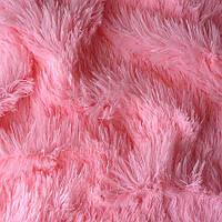 Мех для игрушек - цвет розовый