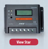 Программируемый фотоэлектрический контроллер заряда ViewStar VS5024N (50А, 12/24Vauto, PWM)