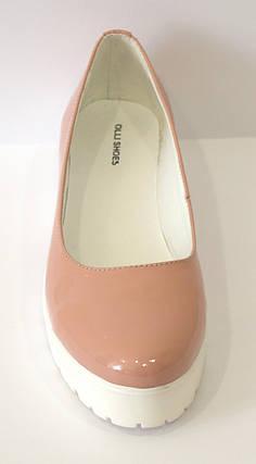 Туфли женские пудровые Olli 3-10120, фото 2