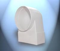 Система пластивент колено-соединитель-переход 55\110 на 100