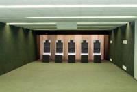 Резиновая плитка для оружейно-стрелкового тира
