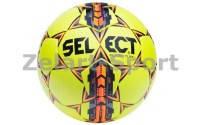 Мяч футбольный №5 SELECT FLASH TURF(FPUG1500, желтый-серый-оранжевый)