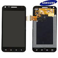 Дисплей + сенсорный экран (touchscreen) для Samsung D710 Galaxy S2 Epic 4G, оригинал (черный)