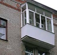 Отделка балконов и лоджий в Киеве