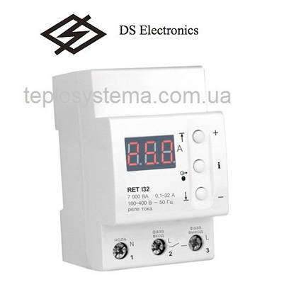 Реле контроля тока ZUBR I32 (RET 132) DS Electronics , фото 2