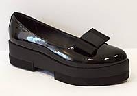 Туфли женские черные Olli 1453