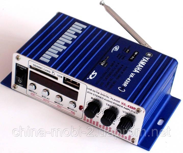 Усилитель автомобильный YAMAHA VA-430R c USB, SD, FM