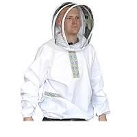 Куртка пчеловода «Украинская» сетка европейского образца
