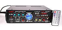 Усилитель звука UKC AV-339A + USB + КАРАОКЕ! Гарантия!