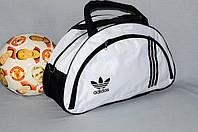 Спортивная сумка Adidas модель MB. (белый+черный). Лучшие цены!!!, фото 1