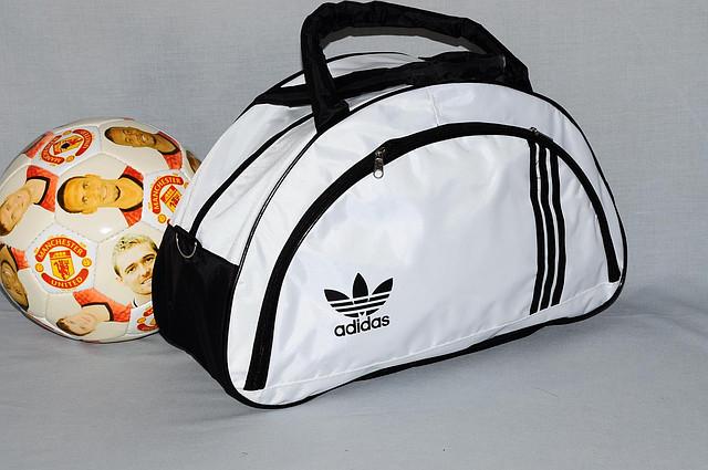 белая сумка адидас купить