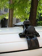 БАГАЖНИК двухреечный алюминиевый трапециевидный  профиль на авто с гладкой крышей