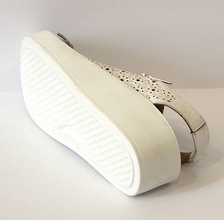 Босоножки женские белые Donna Ricco 901, фото 2