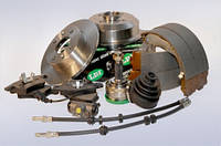 Колодки тормозные передние Audi A6(4A,C4)(94-97) LPR 05P453